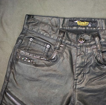 BLACK 640N OIL PANTS